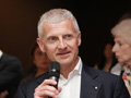 Andrea Illy presenting